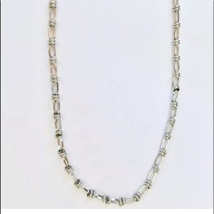 NWT LOFT Long Looped Chain Link Necklace 34""
